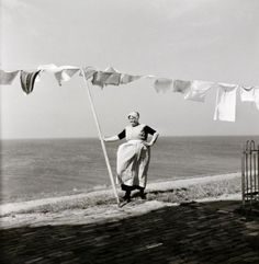 Urk, photo by G.A. van der Chijs, 1958