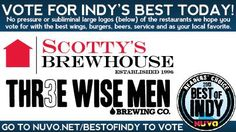 We would appreciate your vote for NUVO's Best of Indy 2013.