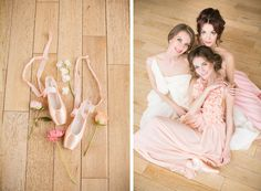 Ballet Inspired Wedding Ideas |  russian ballerinas | балерины | балет | свадьба | девишник http://svetamart.ru/wedding/gallery/wedding-look/