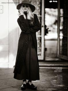 Vogue China. Ola Rudnicka by Boo George