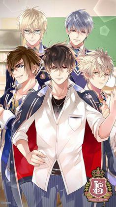 My Ikemen Boys in School Uniforms I LOVE IT!!!!