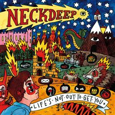"""Pop punk is alive and well. We're really digging the new Neck Deep album, """"Life's Not Out To Get You!"""" Available now at Zia on compact disc and vinyl."""
