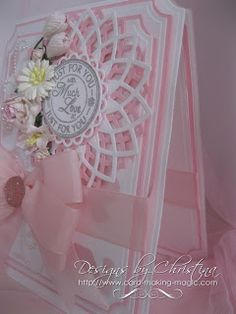 "Flowers, Ribbons and Pearls: ""Much Love"" in Pink ..."