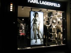 euroshop. euroshop 2017. window display. fashion. visual merchandise. shop desing. Karl Lagerfeld.
