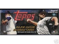 1999 TOPPS Baseball Cards Complete Factory Set of 462 Cards! by TOPPS. $54.99. This factory sealed set contains both series one and two with 462 cards including the McGwire Home-Run Record card #220 and Sammy Sosa Home-Run Parade #461. This set is factory shrink wrapped, so there is the chance it could include the much sought after McGwire homerun #70 card and/or Sosa #66 card !