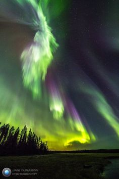 Aurora Borealis or Northern Lights in Finland: Jani Ylinampa Photography