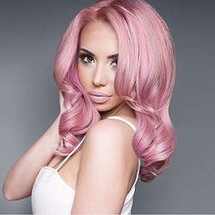 Amazing Brave In Pink Hairstyles Women Hairstyles Pinterest Pink Hairstyles For Men Maxibearus
