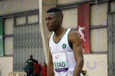 Paulo Conceição Campeão Nacional Universitário de Atletismo em Pista Coberta 2013/2014