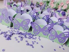 Sweet Treat Holders - ideal for Jardim, Tinkerbell and Rapunzel Theme Party