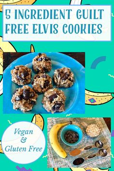 Gluten Free Banana, Vegan Gluten Free, Gluten Free Recipes, Guilt Free, My Recipes, Cravings, Cookies, Baking, Breakfast