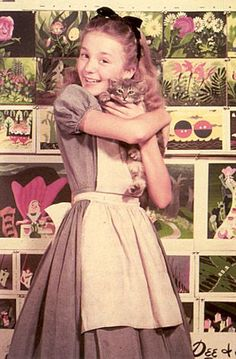 Kathryn Beaumont - Alice (and DINAH)