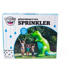 Big Mouth Toys Dinosaur Sprinkler - Green : Target