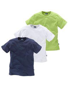 Produkttyp , T-Shirt, |Qualitätshinweise , Hautfreundlich Schadstoffgeprüft, |Materialzusammensetzung , Obermaterial: 100% Baumwolle, |Material , Baumwolle, |Cotton made in Africa , Mit dem Kauf unterstützen Sie den nachhaltigen Baumwollanbau, |Farbe , Marine-Weiß-Limette, |Passform , Basic-Form, |Schnittform/Länge , gerade, |Ausschnitt , Rundhals, |Ärmelstil , Kurzarm, |Armabschluss , Kante ab...