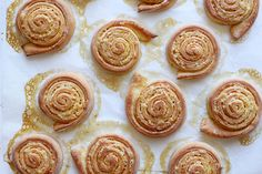Orange Pinwheel Pastries for Carnival (Arancini di Carnevale) on Food52