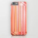 iPhone & iPod Case mixed Pattern orange by Christine Baessler