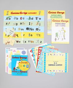 Curious George Curious About Learning Boxed Set #zulily #zulilyfinds