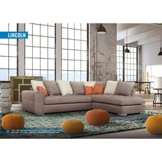 The Liberty contemporary chaise sofa has low curved arms to give it a more modern edge. As standard the sofa sits on chocolate, square feet and has piped, foam and fibre cushions. Corner Sofa Sale, Grey Corner Sofa, Home Cinema Seating, Faux Leather Sofa, Sofa Uk, Sofa Company, Storage Ottoman Bench, Brown Sofa, White Sofas