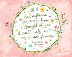 Eternal Garden by Katie Daisy