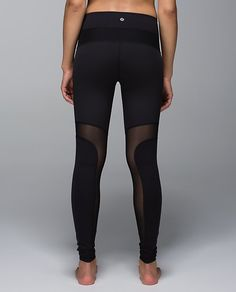 It's always an issue - long tights that are way too hot! Now LuLuLemon has the answer.