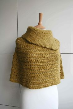 Crochet pattern crochet poncho pattern cowl crochet by LuzPatterns #crochetpattern #crochet