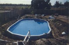 How to make an above ground pool into an in-ground pool and save lots of money!