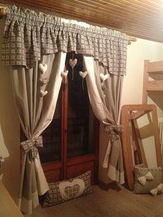 Tende per la cucina fai da te | cortinas | Pinterest | Shabby ...
