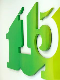 Creative Signs, Cartlidge, Levene, Numbers, and Signage image ideas & inspiration on Designspiration Environmental Graphic Design, Environmental Graphics, Typography Letters, Typography Design, Visual Design, Wayfinding Signs, Sign System, Building Images, Building Plans