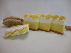 Banana Cream Pie Soap - Handmade Moisturizing Soap - Stocking Stuffer - Unique Glycerin Gift - Fruity Banana - Homemade Soap