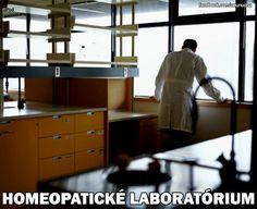 homeopatické laboratórium