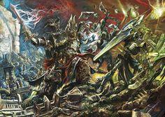 Warhammer 40k - Black Crusade by Yogh-Art.deviantart.com on @deviantART