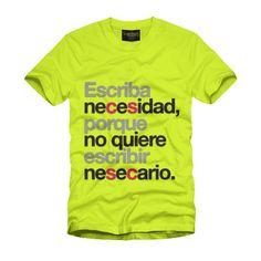 ¡Cuánto Daño!: ¿Odias a la gente que tiene faltas de ortografía? ¡Estas son tus camisetas!