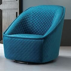 Mercer41 Roberdeau Swivel Barrel Chair