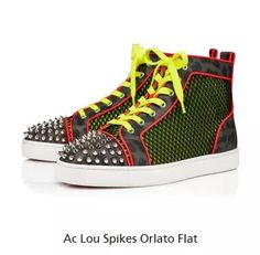 Louboutin Shoes, Christian Louboutin, High Tops, High Top Sneakers, Flats, Fashion, Loafers & Slip Ons, Moda, Fashion Styles