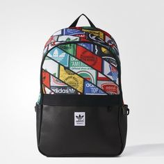 a49c5d56b61d adidas Graphic Backpack - Black