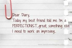 Are you a Perfectionist? How's it working for you in business?