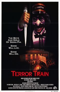 Terror Train movie poster (1980)