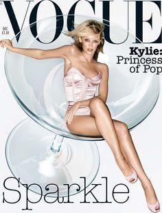 December 2003 Kylie Minogue wears silk-satin corset, £825. Satin briefs, £110…
