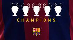 1992 I 2006 I 2009 I 2011 I 2015 - FC Barcelona UEFA Champions League wi...