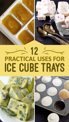 12 Kitchen Basics You Should Freeze In Ice Cube Trays