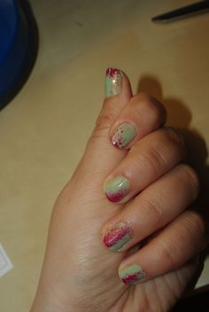 Zombie nails...LOVE!