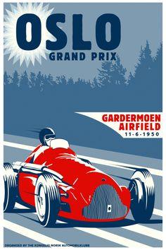 Oslo Grand Prix Gardermoen 1950