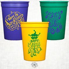 Mardi Gras Stadium Cup Party Pack