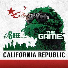 "Alternate Cover to The Game's mixtape ""California Republic"""
