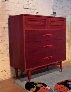 Jiinkies it's Velma Atomic Red Dresser by Omforme