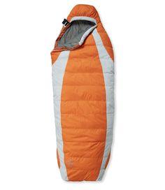 L.L.Bean Down Sleeping Bag with DownTek, Semi-Rectangular 35°