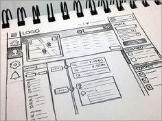 ウェブサイトやブログを制作する時の手書きのワイヤーフレームのまとめ