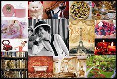 painel de estilo - tradicional e romantica