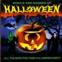 halloween album art songs and sounds of halloween cd sound effects cover