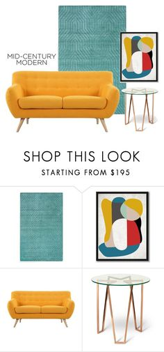 """""""Quiet Drama"""" by patricia-dimmick ❤ liked on Polyvore featuring interior, interiors, interior design, home, home decor, interior decorating, West Elm, Madison, modern and midcenturymodern"""