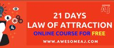 21 Days Law of Attraction Online Course For FREE